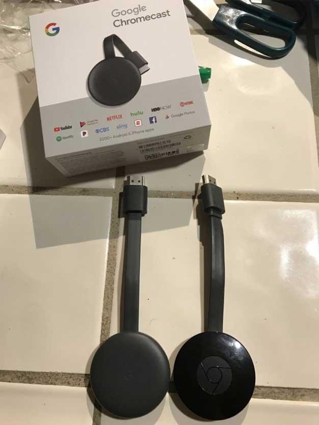 chromecast new box