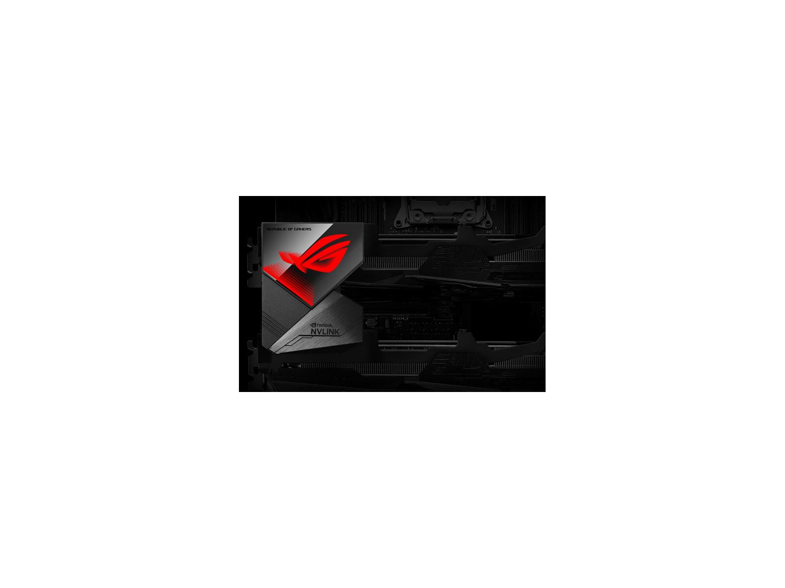 ASUS Launches ROG GeForce RTX NVLink With Aura Sync For 4K SLI
