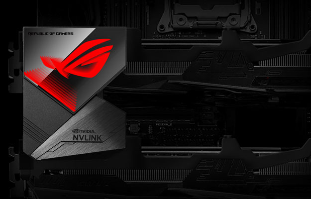 ASUS Launches ROG GeForce RTX NVLink With Aura Sync For 4K