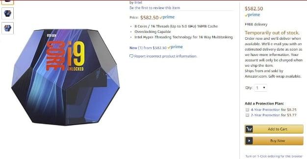 intel corei9 9900K packaging 2