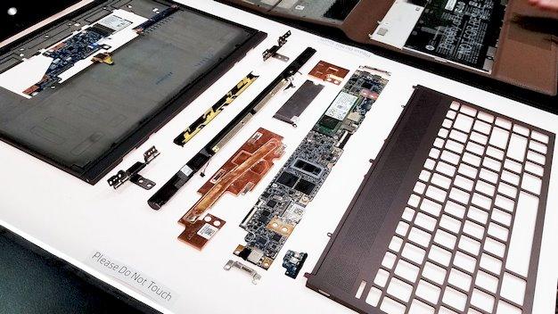 hp spectre folio motherboard