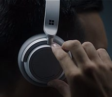 Microsoft's Sleek Surface Bluetooth Headphones Feature 8 Microphones And Cortana Integration