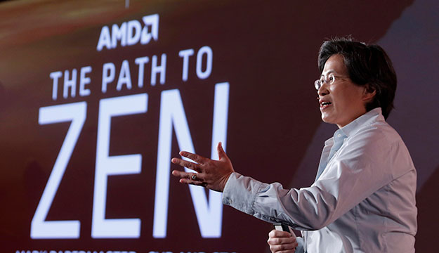 AMD Dr. Lisa Su and Zen