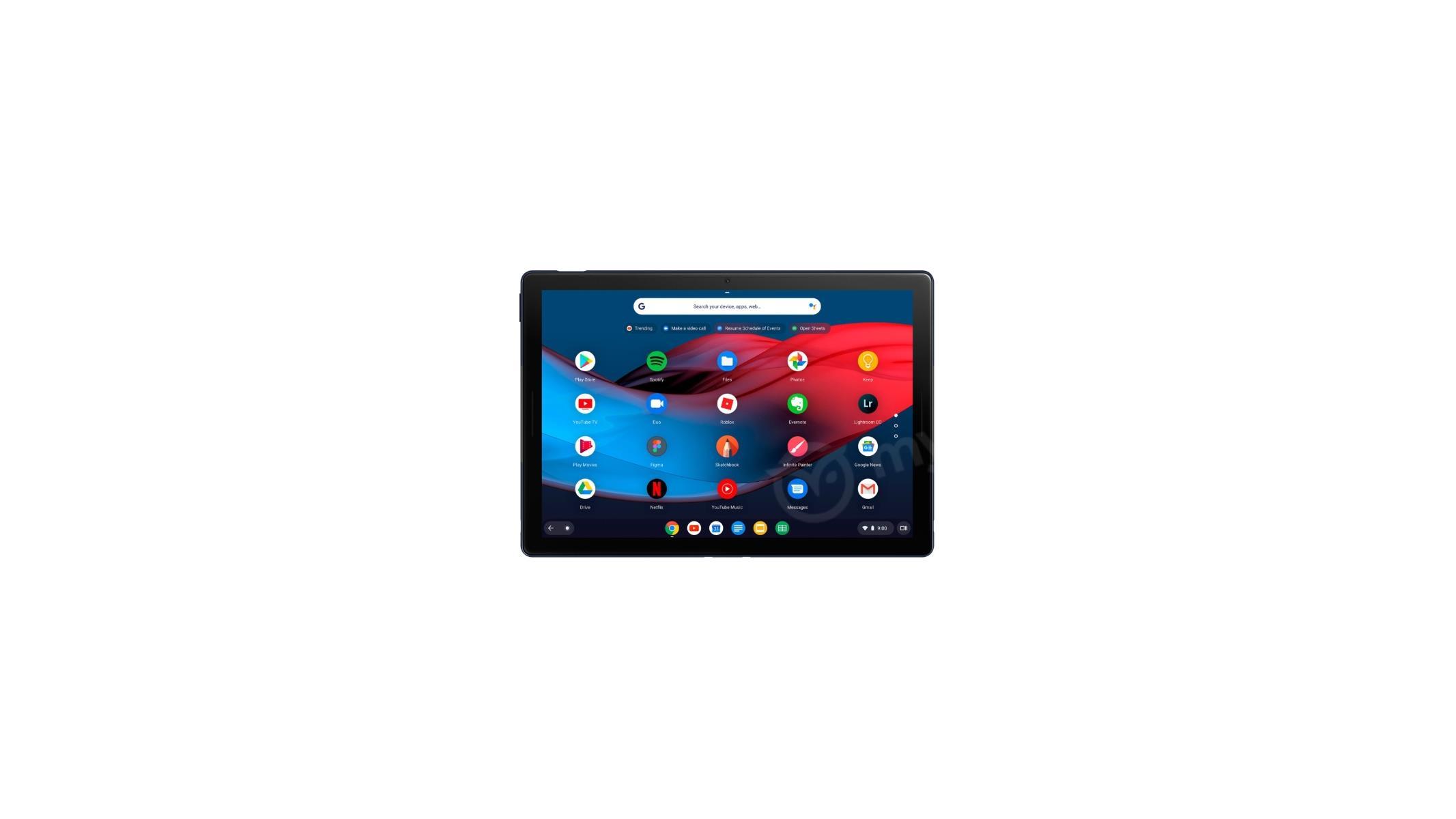 Google Pixel Slate Chrome OS Tablet Images Leak, Detachable