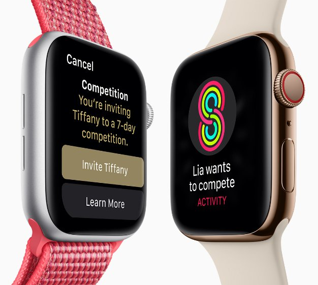 apple watch series4 competitions 09122018