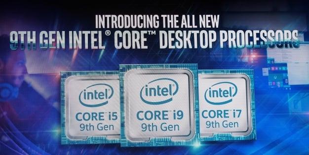intel 9th core 3