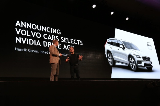 Volvo cars will be equipped with new generation computers NVIDIA