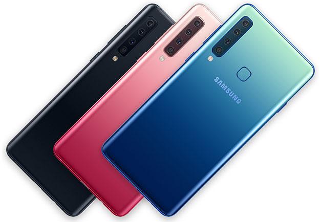 Samsung Galaxy A9 Rear Cameras