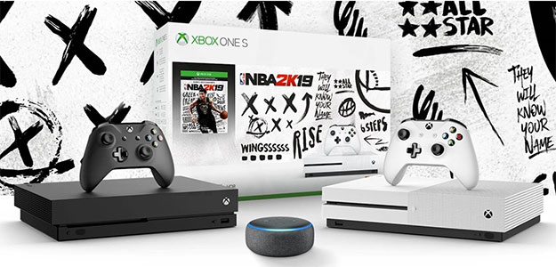 Xbox One and Echo Dot