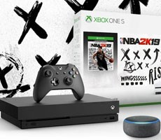 Microsoft Bundles Xbox One Consoles With Free Third-Gen Amazon Echo Dot