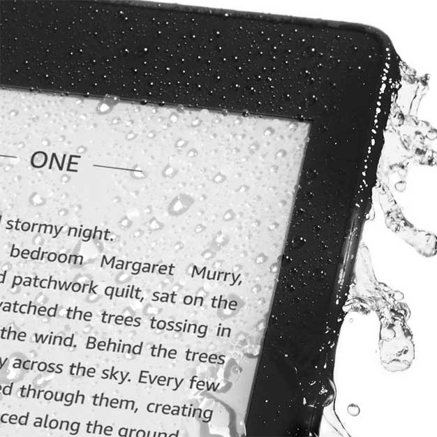 paperwhite wet