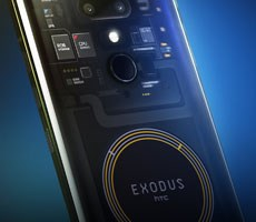 HTC Launches Exodus 1 Blockchain Phone That Can Only Be Purchased With Cryptocurrency