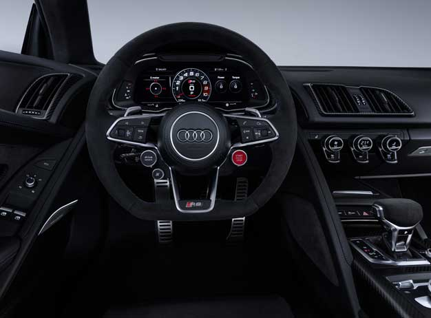 audi r8 steering