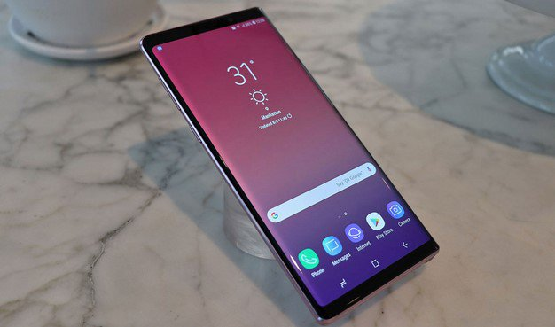 galaxy note 9 edge purple
