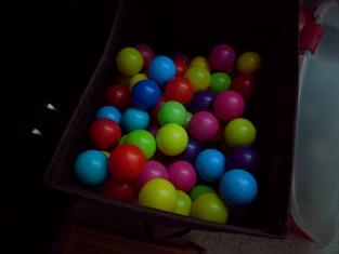 balls with night shot