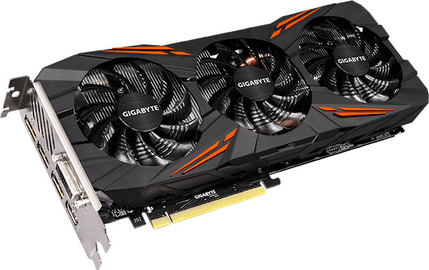 Gigabyte GeForce GTX 1060 G1 Gaming D5X 6G
