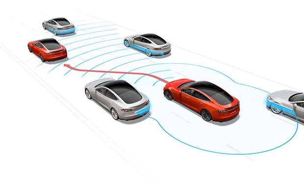 Tesla rolls out Navigate on Autopilot - Autoblog