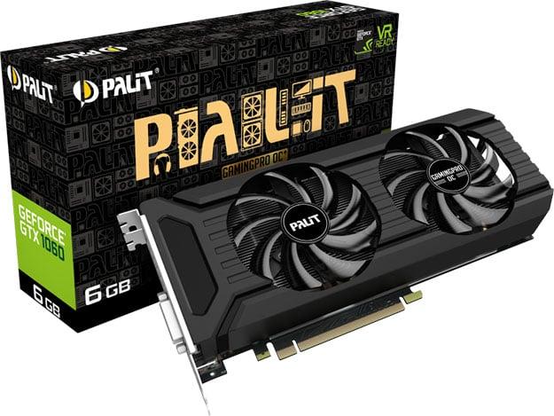 Palit GeForce GTX 1060