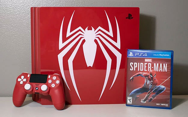 PlayStation 4 Pro Spider-Man Bundle