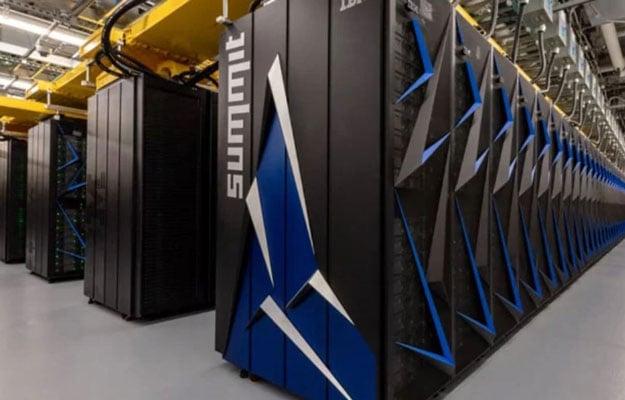 ornl summit supercomputer