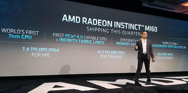 AMD Radeon Instinct Shipping This Quarter