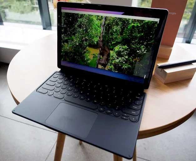 pixel slate desk