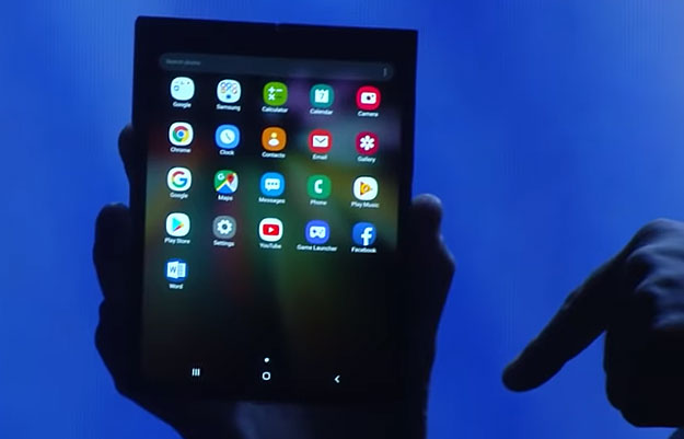 Samsung Folding Smartphone