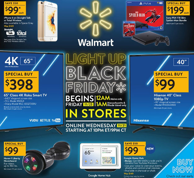 Walmart Reveals Black Friday Deals On Smart TVs, PC Gaming Gear ... 79a367834186