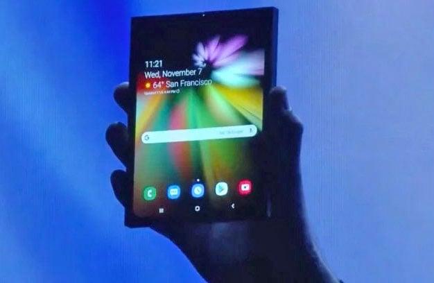 Samsung Galaxy F Folding Phone