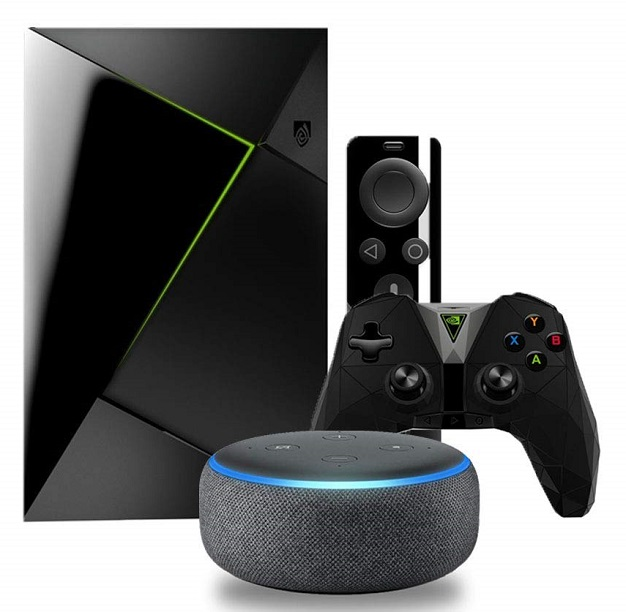 Nvidia Shield TV Gaming Edition Echo Dot 3rd Edition