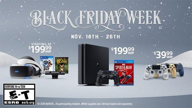 Sony PlayStation 4 Black Friday Week