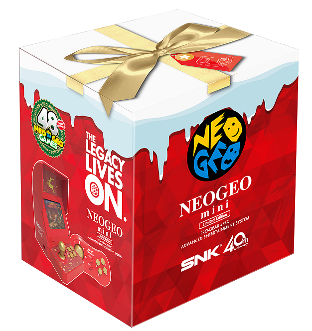 SNK neogeo chrismtas edition