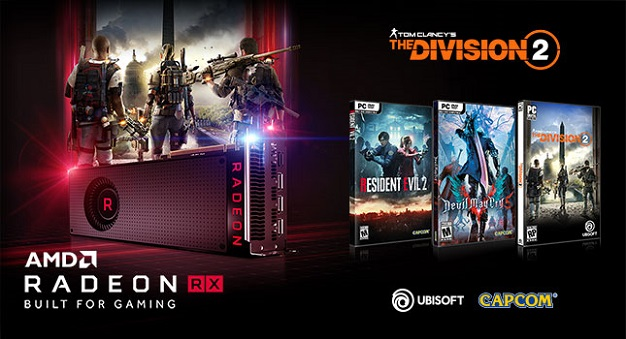 amd free games with GPU 2018 offer