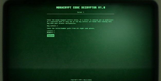 Nukacrypt Code Decryptor