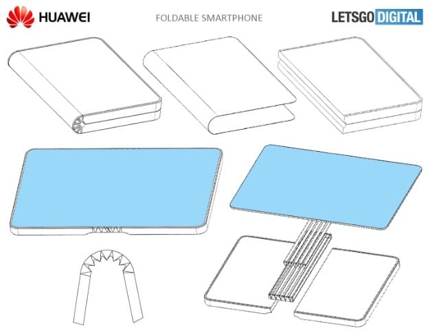 huawei folding smartphone