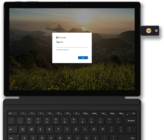 Edge Browser Can Now Sign Into Microsoft Accounts With FIDO2 Security Keys