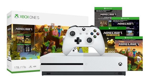 Xbox One S 1TB Minecraft