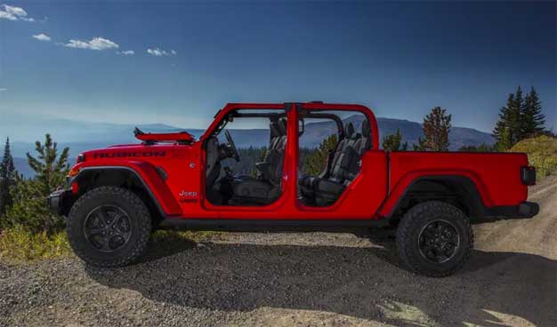 2020 Jeep Gladiator Officially Debuts As The Only Convertible Pickup