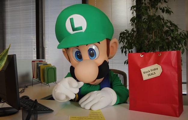 Luigi Black Friday