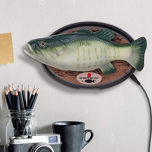 Amazon Alexa-Enabled Big Mouth Billy Bass Says Take Me To