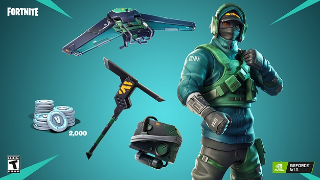 geforce gtx fortnite bundle items