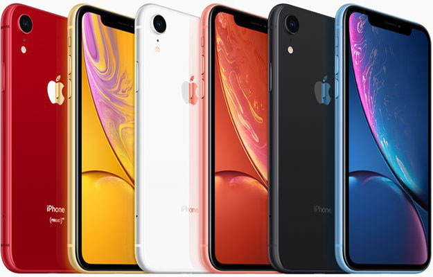 iphone xr color variety