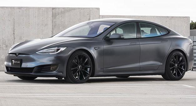 Tesla Model S Gray