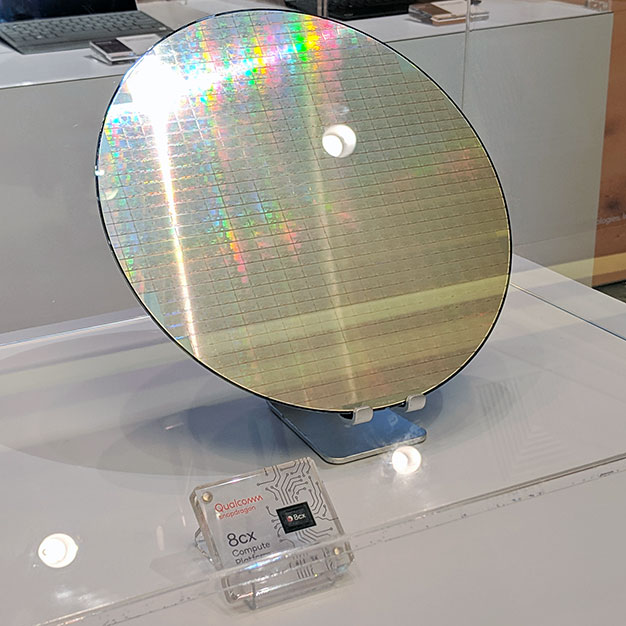 Qualcomm Snapdragon 8cx Wafer