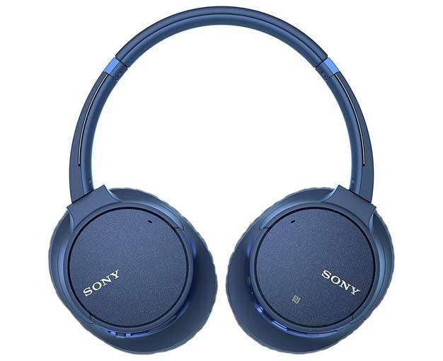 sony headphones blue