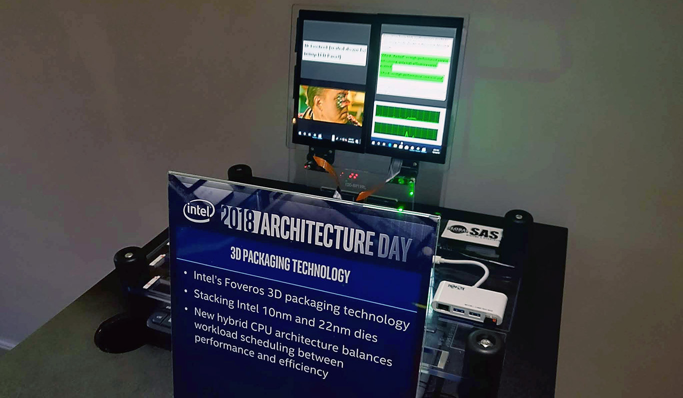 Intel Foveros To Usher In Industry First 3D Stacked System On A Chip Designs