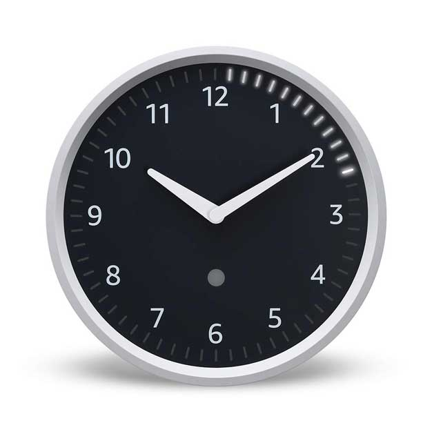 echo wall clock face