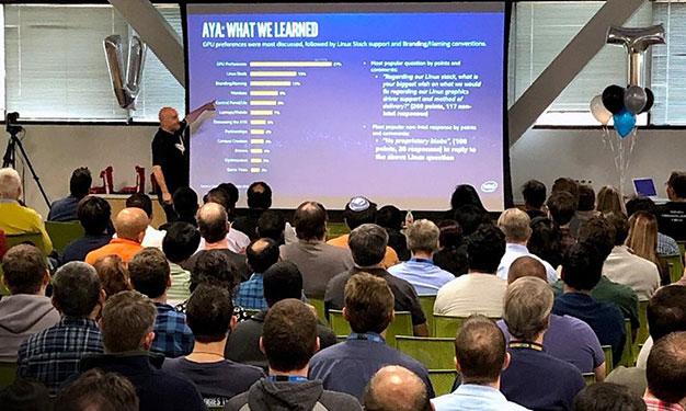 Intel's Hook Seen Detailing Community Feedback As GPU Engineers