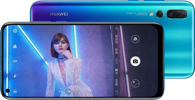 Huawei Nova 4 Front and Back