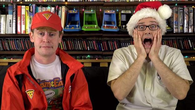Macauly Caulkin and Angry Video Game Nerd